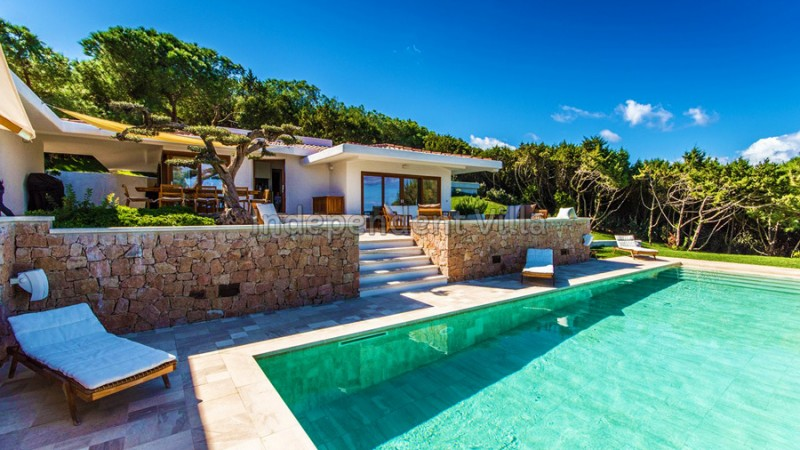 villa piscina sardegna - Villa al mare Sardegna - villa for sale or rent in Sardinia,