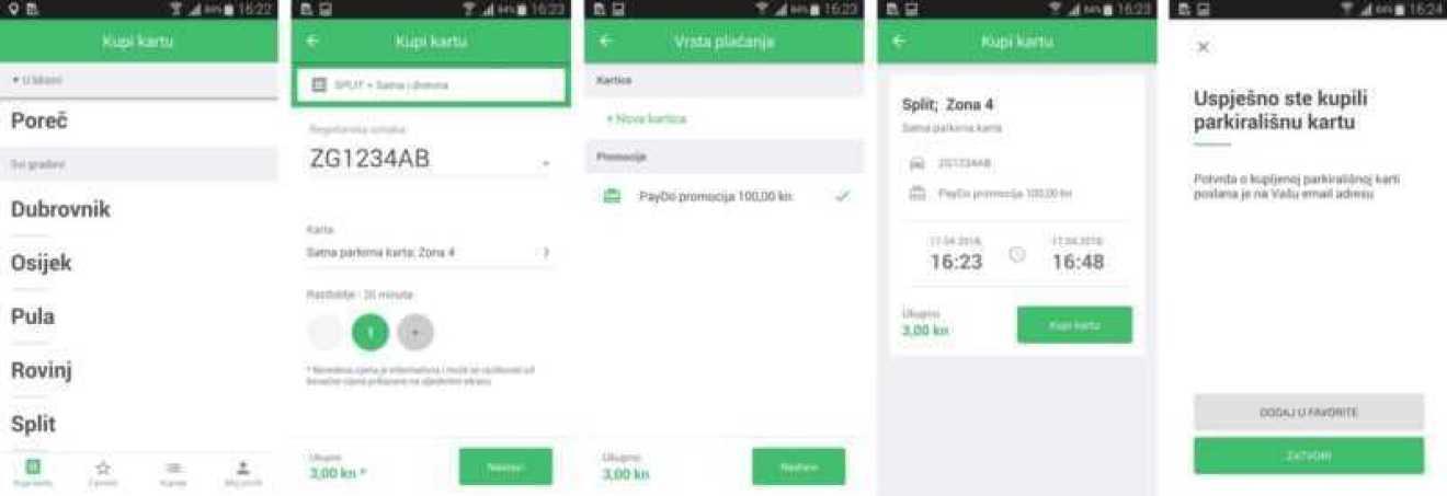 PayDo parking 10 - TEST Aplikacija PayDo za plaćanje parkinga