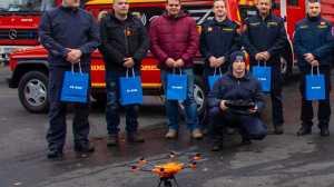 DRONacija 2018 2 - Lijepa gesta: Tele2 donirao dronove vatrogasnim društvima