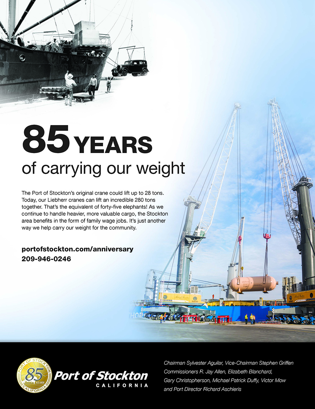 85 Years Carrying Our Weight