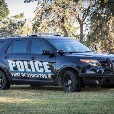 Port of Stockton Police Vehicle