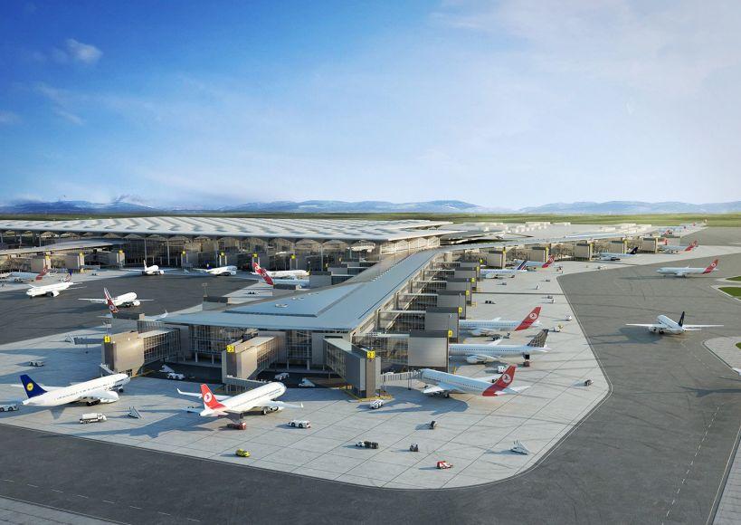 مطار اسطنبول الثالث.. اجتماع القوة العالمية بالأرقام
