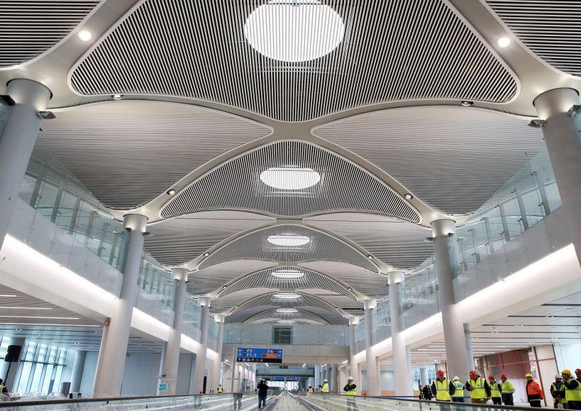 إنهاء 25% من مطار إسطنبول الثالث
