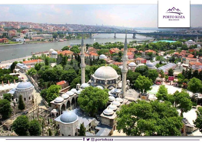 منطقة أيوب سلطان Eyüp Sultan في إسطنبول