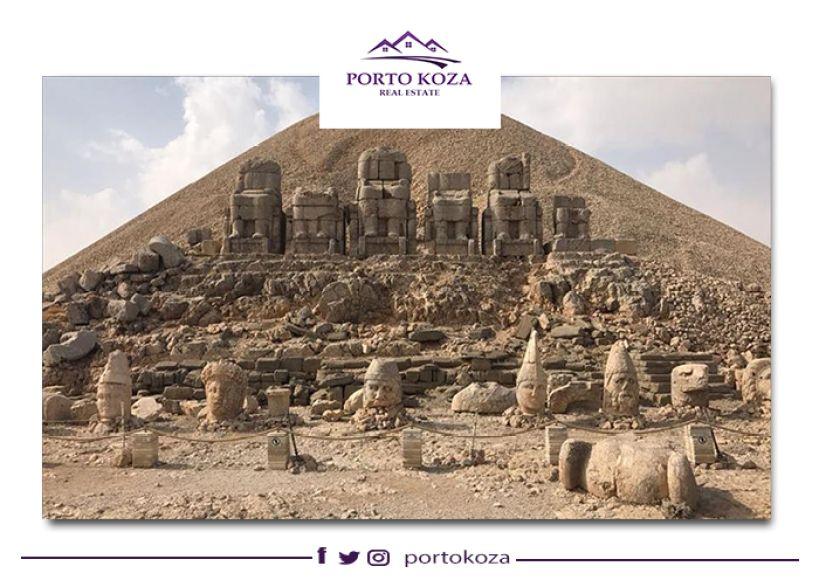 جبل النمرود (Nemrut Dağı).. أعلى متحف مفتوح في العالم