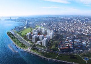 شقق للبيع في اسطنبول في منطقة باكيركوي مطلة على البحر