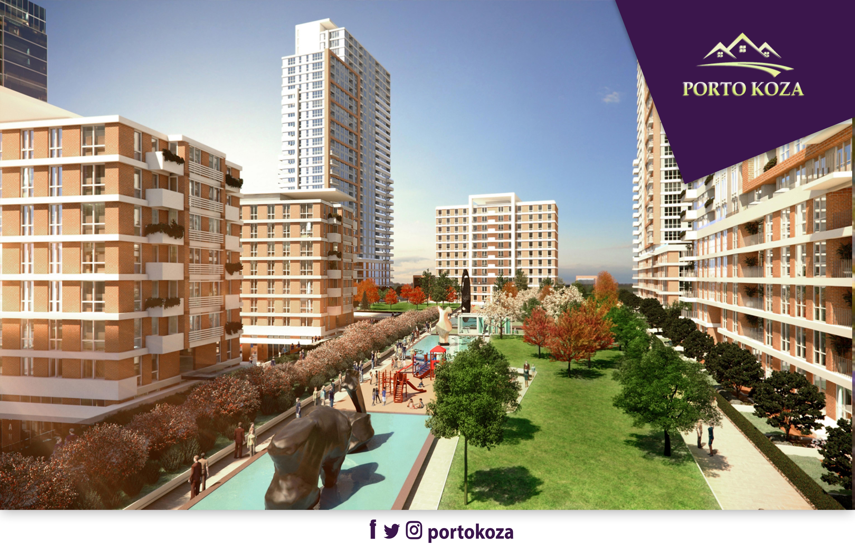 شقق للبيع  (PK-4685) مشروع استثماري غرف من 1+1 إلى 3+1 في جونيشلي