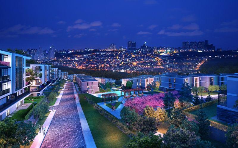 صور مجمع مدينة استون شهير Eston Şehir ، باشاك شهير ، حي بهشا شهير ، اسطنبول | بورتوكوزا العقارية