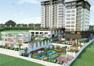 شقة للبيع  مقيم للجنسية التركية غرف 5+2 في باشاك شهير ، حي بهشا شهير