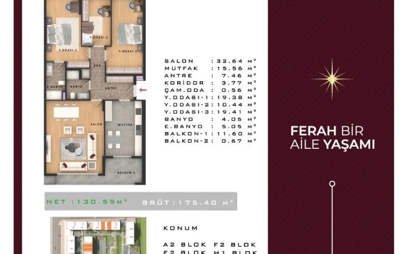 صور مخطط  أهتيران (Ahteran) ، إسنيورت ، اسطنبول | بورتوكوزا العقارية