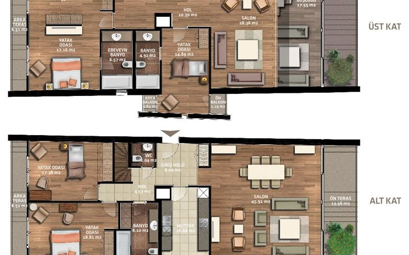 صور مخطط  ويست بلوكس (West Blocks) ، بيوك جكمجة ، اسطنبول | بورتوكوزا العقارية