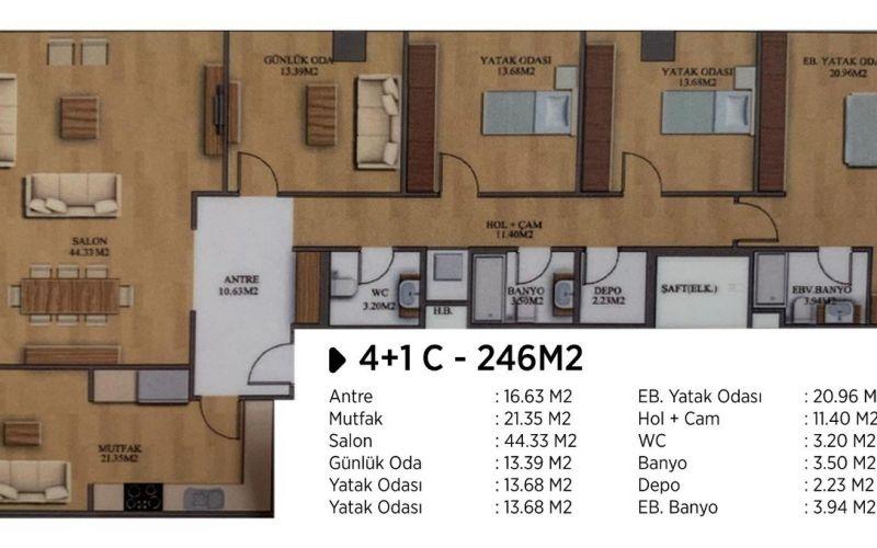 صور مخطط  اسطنبول 216 (Istanbul 216) ، كاديكوي ، اسطنبول | بورتوكوزا العقارية