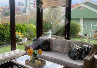 فيلا للبيع  مقيم للجنسية التركية غرف 4+2 في باشاك شهير ، حي بهشا شهير