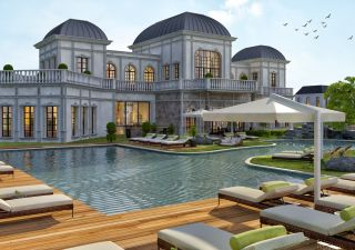 فلل للبيع  مقيم للجنسية التركية غرف من 4+1 إلى 5+1 في اومارلي