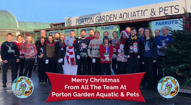 Porton Garden Aquatic & Pets Christmas Jumpers