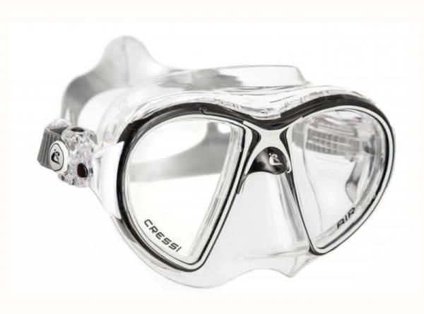 Máscara Cressi AIR Crystal negro blanco