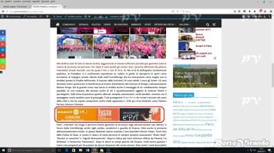 Esempio di banner pubblicitari su PortoVIrando