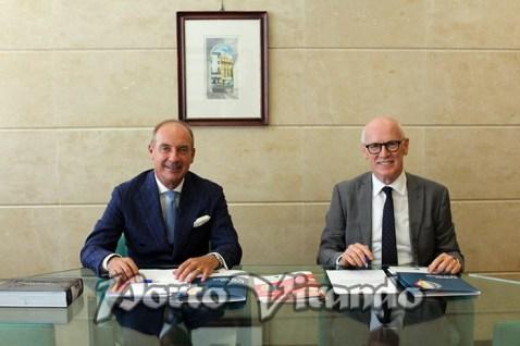 Da sx il presidente Gaetano Marangoni e il direttore generale Mariano Bonatto