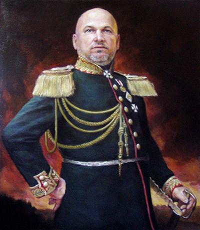 Мужской парадный портрет