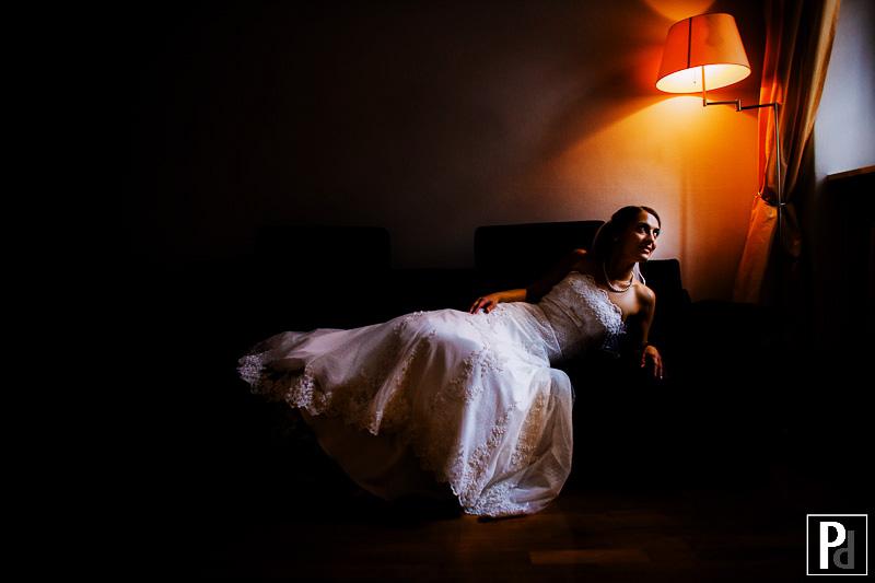 Hochzeitsfotograf Haldmühle Portrait Braut