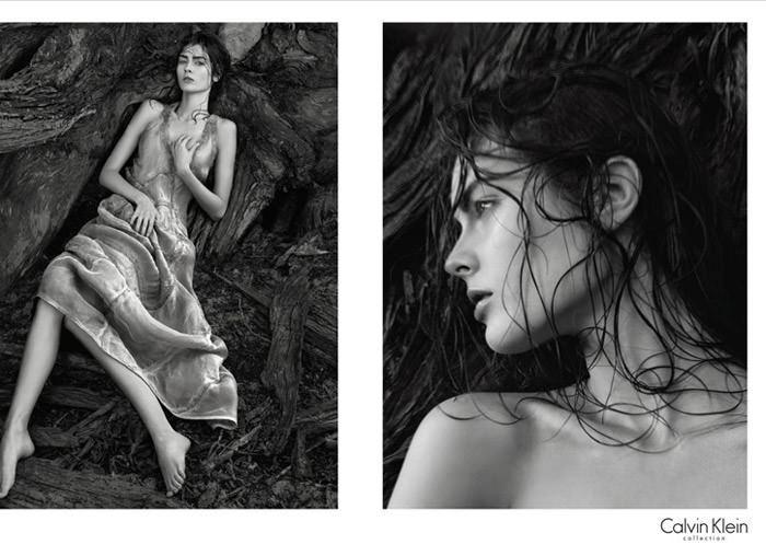 "Calvin Klein - Spring, 2010: Monika ""Jac"" Jagaciak photographed by David Sims 3"