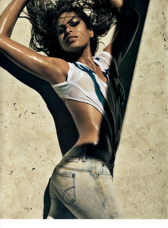 Eva Mendez (& Jamie Dornan) photographed by Steven Klein for Calvin Klein Jeans, Spring 2010 3