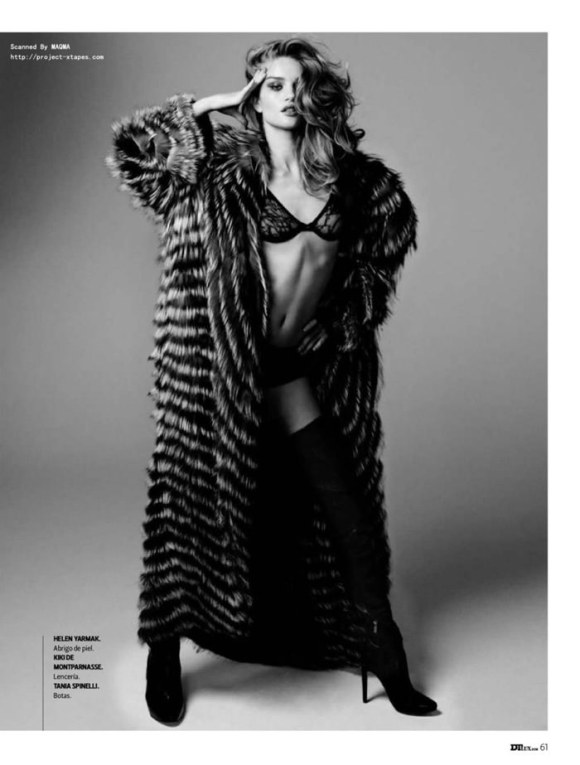 Rosie Huntington-Whiteley photographed by Yu Tsai for DT Spain, January 2010 4