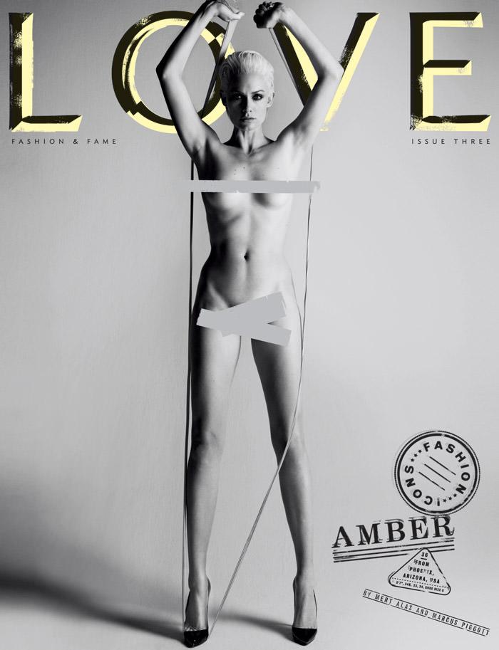 Cover: Amber Valletta for Love Magazine – Spring & Summer, 2010 1
