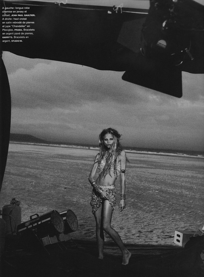 Anna Selezneva photographed by Peter Lindbergh in Numéro #110 5