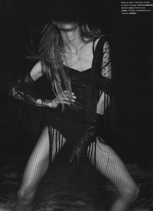 Anna Selezneva photographed by Peter Lindbergh in Numéro #110 9