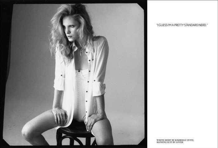 """Chloe Callahan photographed by Blossom Berkofsky in """"About A Girl"""" for Test Magazine 2"""