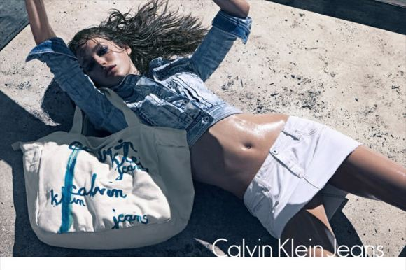 Calving Klein Jeans - Spring / Summer 2010: Emily Didonato photographed by Sebastian Kim 1
