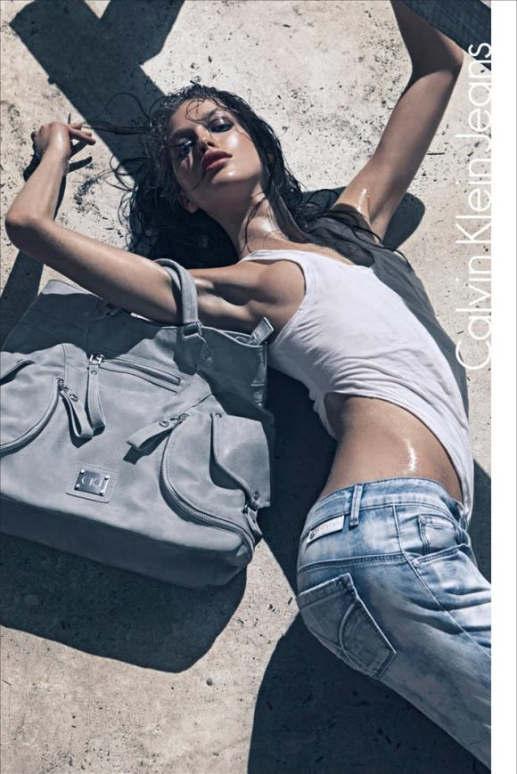 Calving Klein Jeans - Spring / Summer 2010: Emily Didonato photographed by Sebastian Kim 2