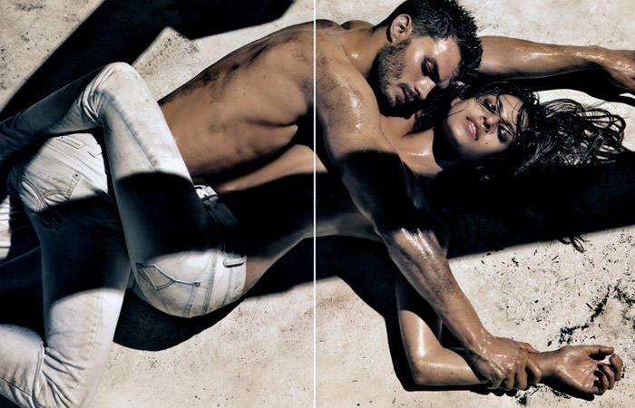 Eva Mendez (& Jamie Dornan) photographed by Steven Klein for Calvin Klein Jeans, Spring 2010 2