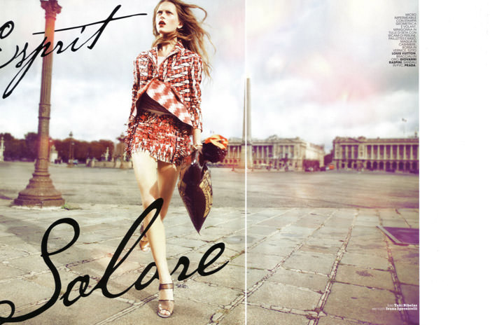 """Esprit Solare"" photographed by Taki Bibelas for Maire Claire Italy, February 2010 1"