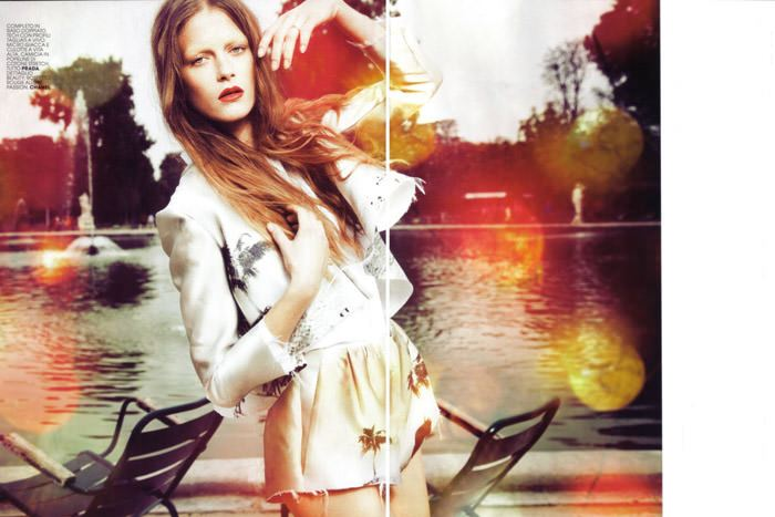 """Esprit Solare"" photographed by Taki Bibelas for Maire Claire Italy, February 2010 2"