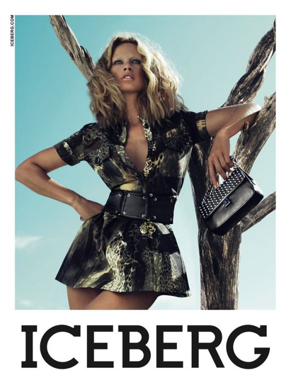 Iceberg - Spring 2010 Campaign: Carolyn Murphy photographed by Mert & Marcus 1