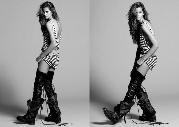 """Izabel Goulart photographed by Yu Tsai in """"Amazing Izabel"""" for Contributor Magazine 3"""