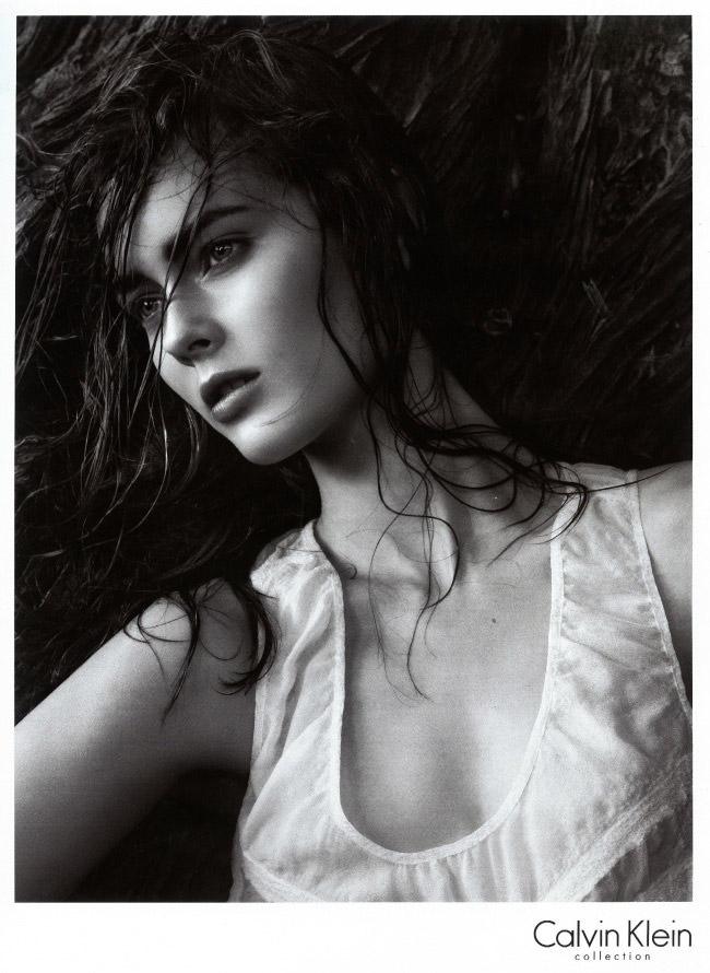 Monika 'Jac' Jagaciak photographed by David Sims for Calvin Klein, Spring 2010 1