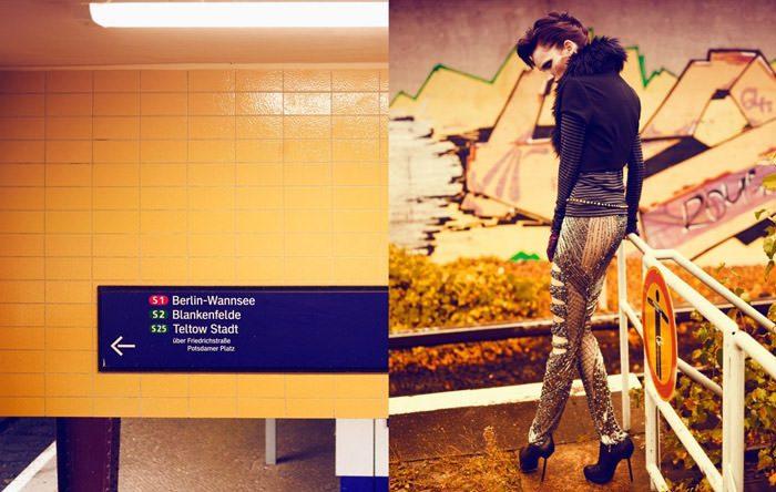 "Nina Reijnders photographed by Koray Birand in ""Berlin In Berlin"" for Marie Claire 8"