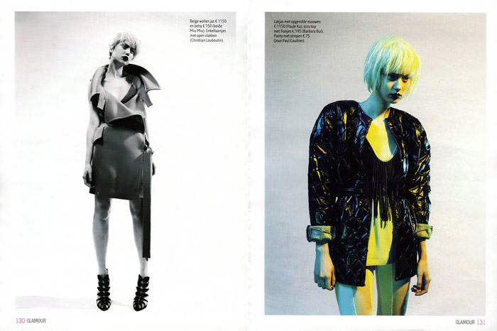 "Magdalena 'Olivka' Chrobot photographed by Barrie Hullegie in ""New Spirit"" for Glamour Magazine 2"