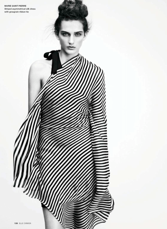 Jeanne Bouchard photographed by Nelson Simoneau for Elle Canada, March 2010 2