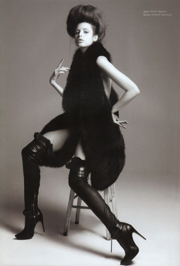 """Charlotte Kemp Muhl photographed by David Roemer in """"Public Image"""" for S Magazine #10 2"""