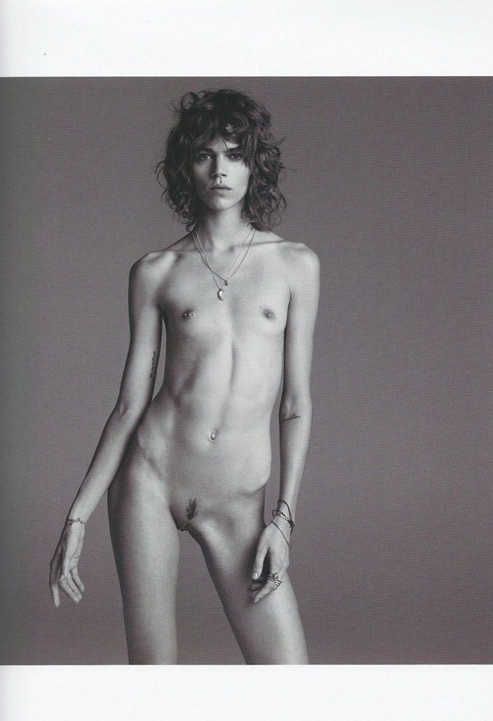 Freja Beha Erichsen photographed by Inez van Lamsweerde and Vinoodh Matadin for Purple Magazine #13 4