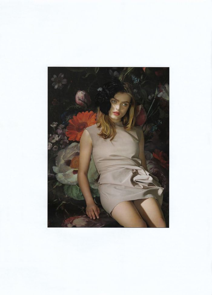 "Sophie Vlaming photographed by Anushka Blommers & Niels Schumm in ""Plums In The Icebox"" for Dossier Journal, Issue IV 7"