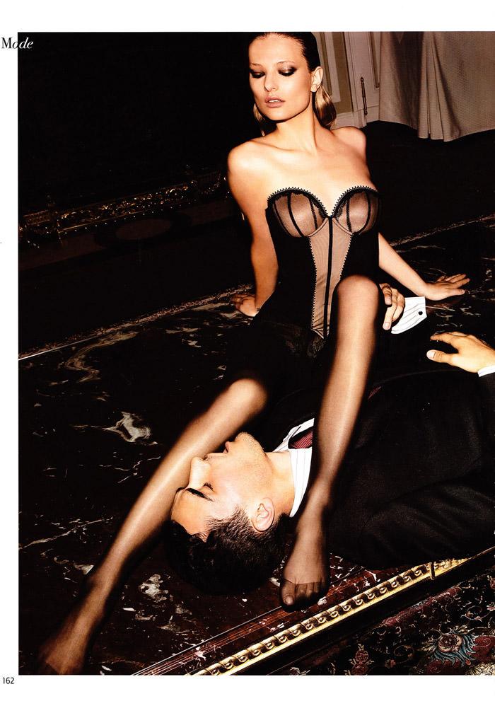 "Tatyana Ruban and Arthur Kulkov photographed by Milan Vukmirović in ""Call Girl"" for L'Officiel Hommes China #228, February 2010 7"