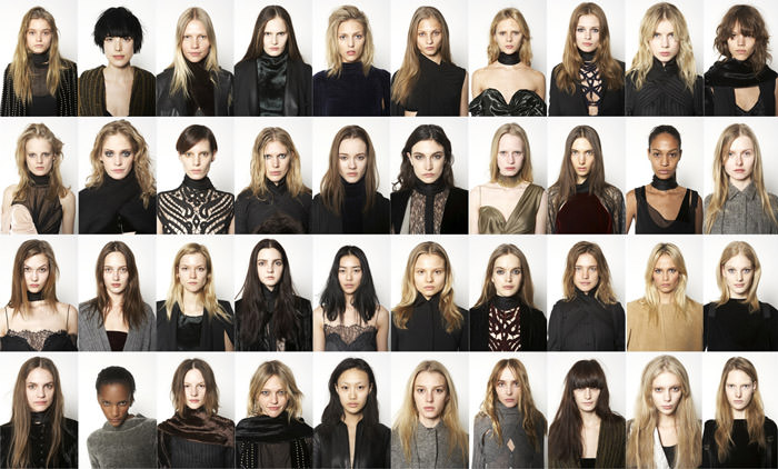 40 Faces of Alexander Wang: Fall & Winter, '10/'11 1