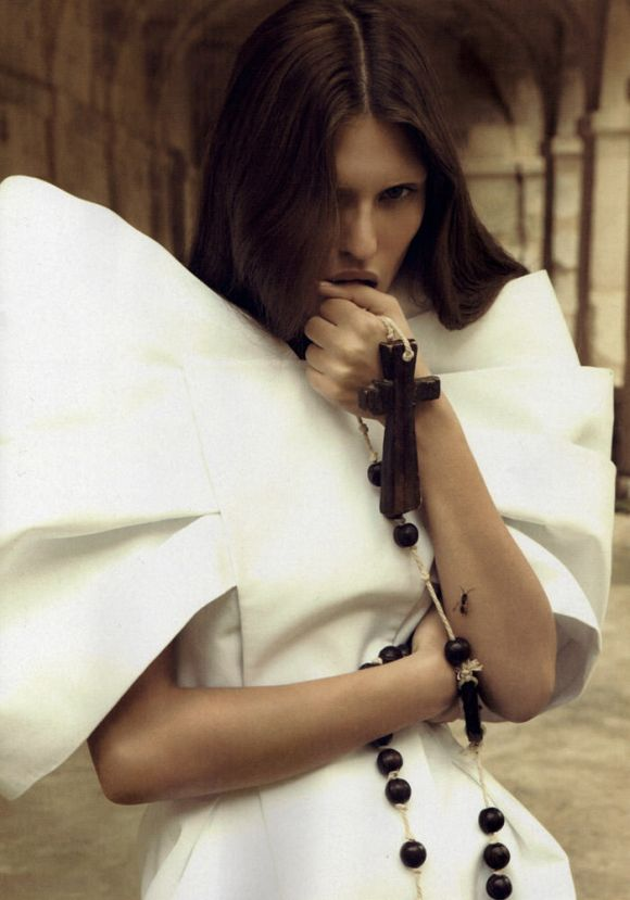Bianca Balti photographed by Camilla Akrans for Numéro #110 6