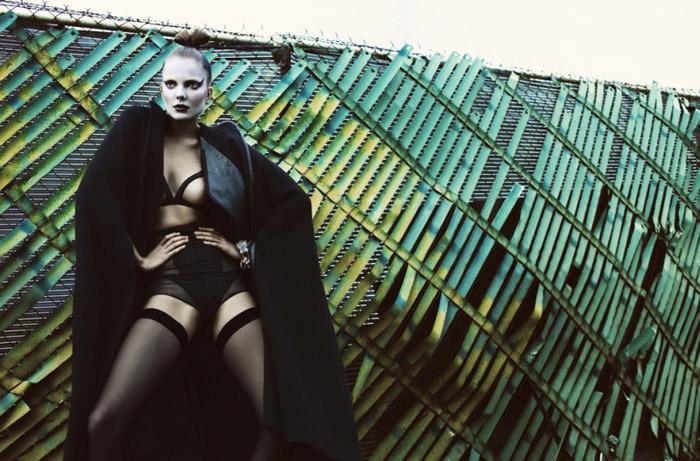 "Eniko Mihalik photographed by Greg Kadel in ""Memories Of Green"" for Numéro #111 4"