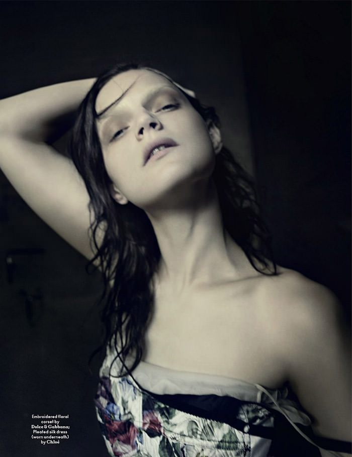Guinevere van Seenus photographed by Paolo Roversi for AnOther Magazine, Spring 2010 12